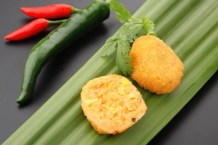 CFR302 Fritter sweet potato and corn