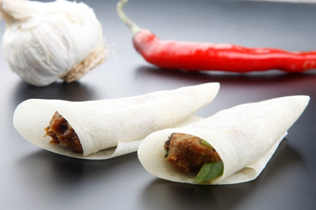 Asian Crepes (No chive tied)