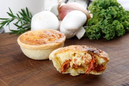 CQC519 Savoury tart 3 Sundried tomato and brie