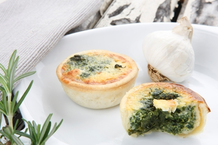 CRRT05 Quiches 14 Spinach ricotta