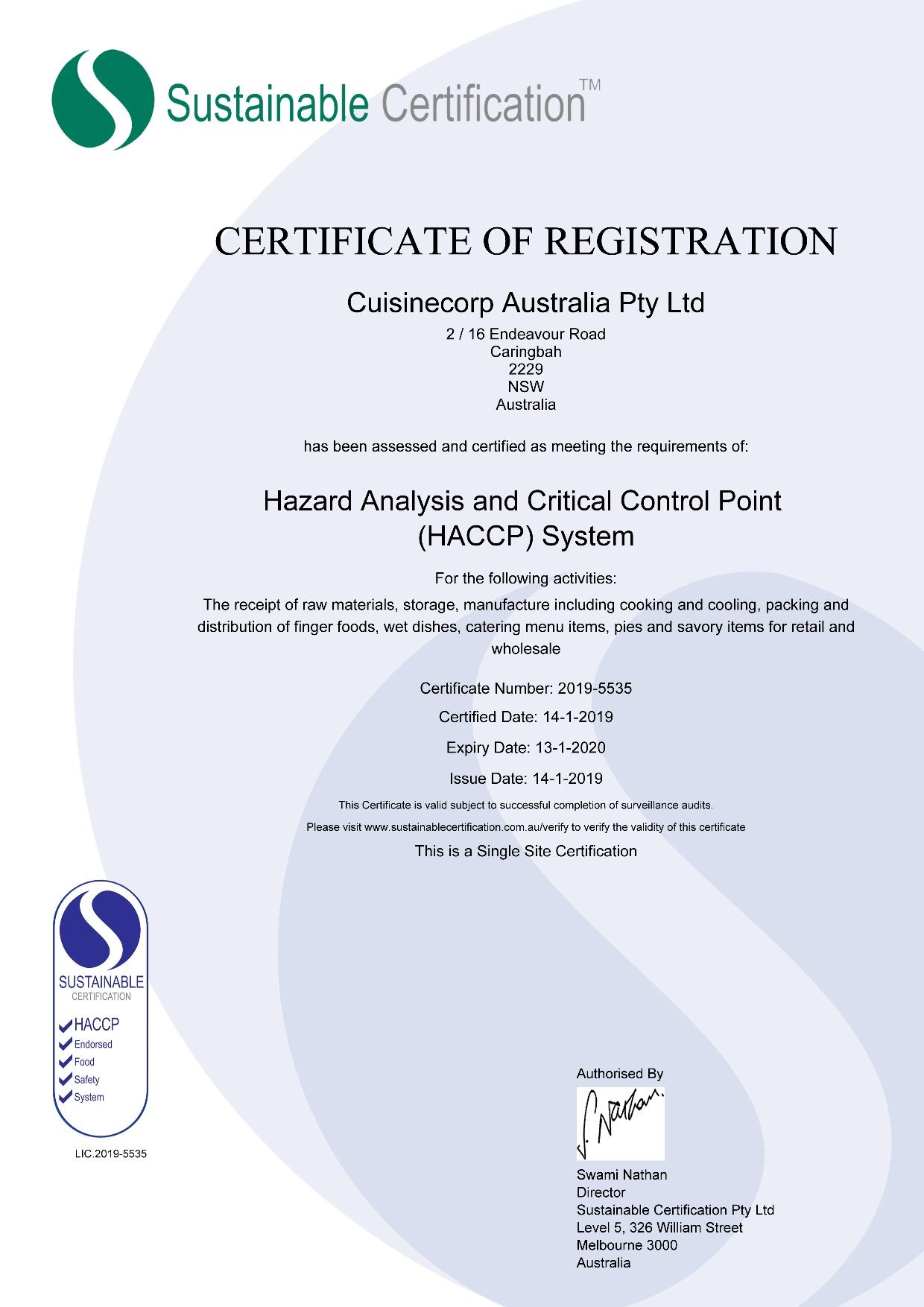 HACCP_CCA_Certificate Expiry 27-1-2019